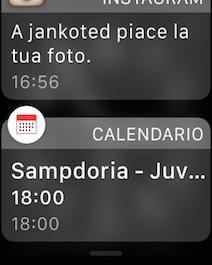 Apple Watch Centro notifiche