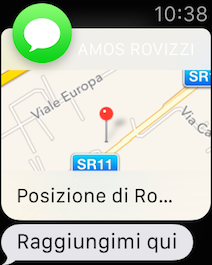 Apple Watch Mappe