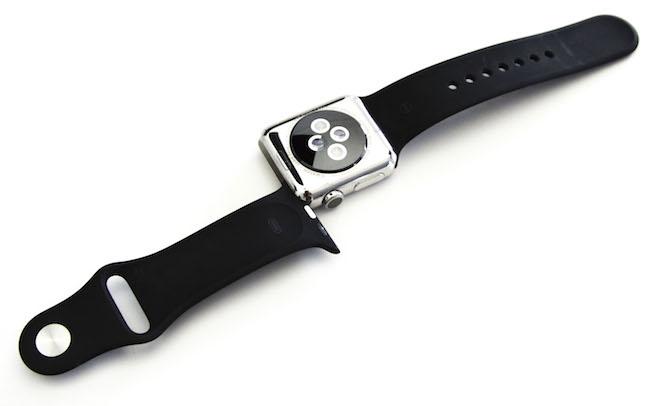 Apple Watch inox 38 mm sensori