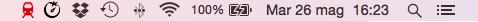 TripMode icona rossa