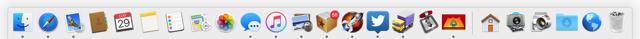 Dock Mac personalizzato