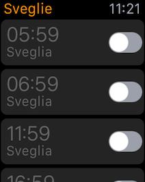 Apple Watch sveglie 001