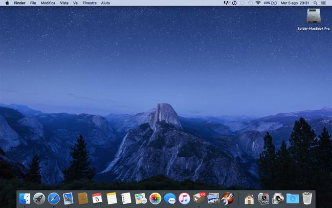 Os X El Capitan Disponibile Il Secondo Spettacolare Sfondo Per Mac
