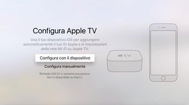 """Apple TV 4: configurazione a colpi di """"touch"""" e """"swipe"""" : SPIDER-MAC"""