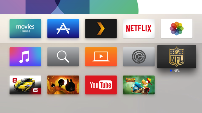 Apple TV elimina app singola