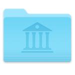 Come visualizzare la cartella Libreria utente su un disco di backup esterno