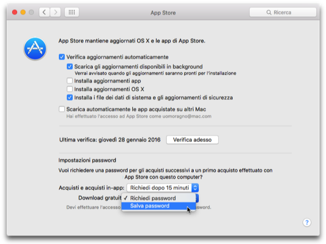 Mac App Store no password app gratis