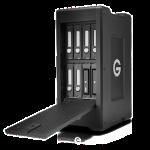 G-Technology presenta due nuove soluzioni a 8 alloggiamenti di storage RAID trasportabili