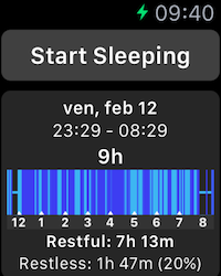 Sleep Apple Watch