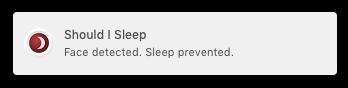 Should I Sleep notifica