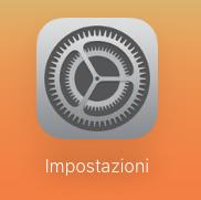 Impostazioni iCloud