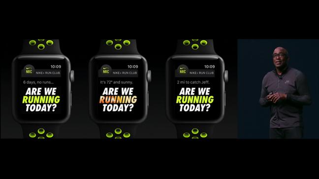 Apple Watch Nike motivatore