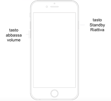 tasto sleep iphone 6 bloccato