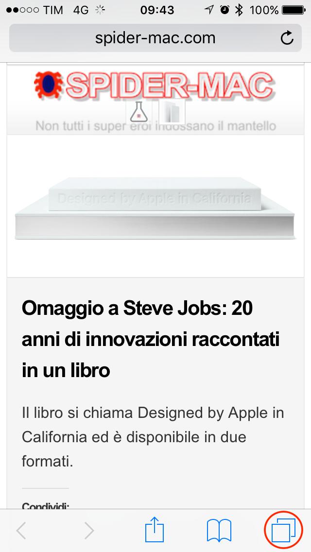 Nuovo Pannello iOS 10