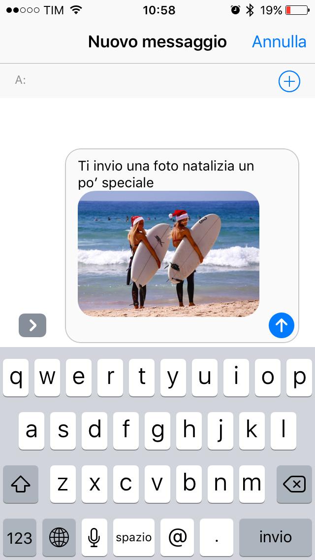Condivisione foto Messaggi iOS 005