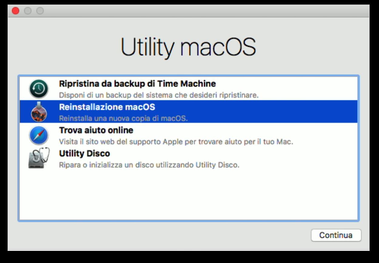 Utility macOS