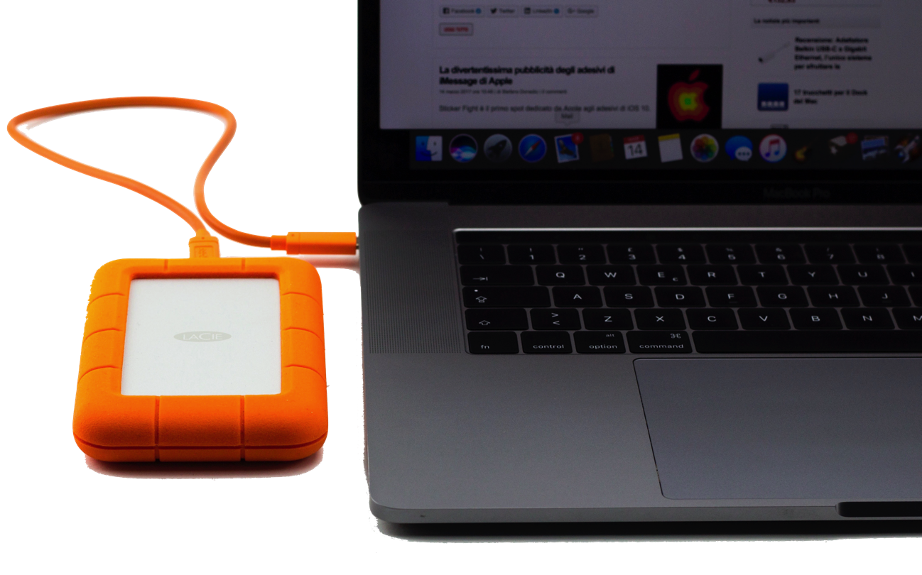 LaCie Rugged Mini USB C 001