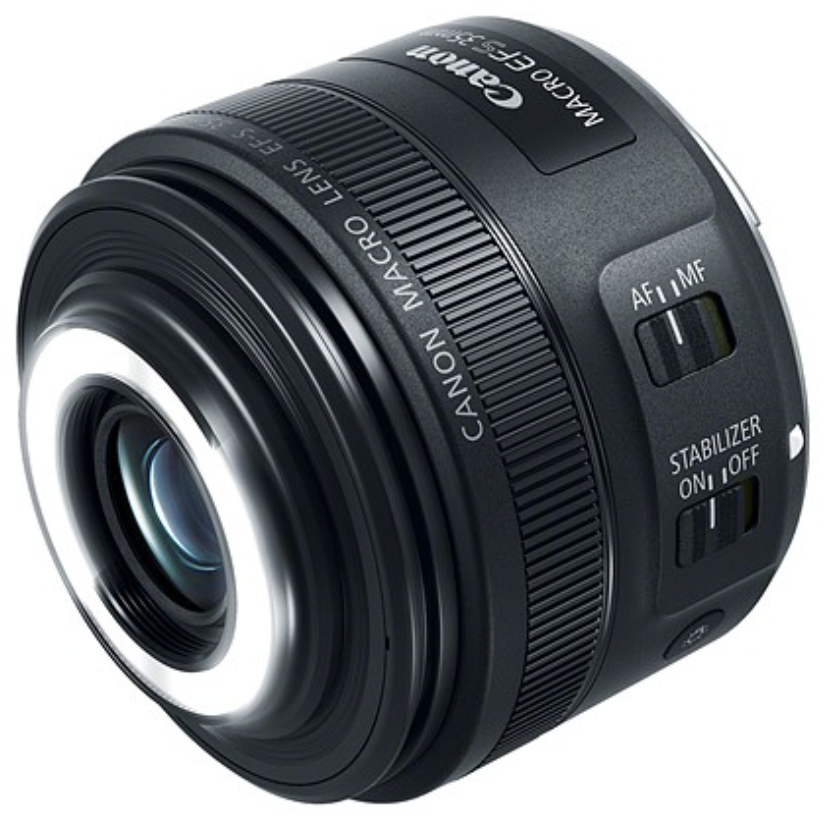Obiettivo Macro Canon led