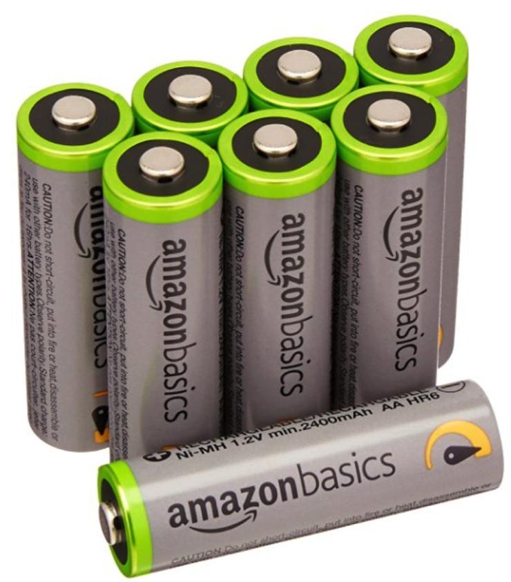 Amazon batterie AA Eneloop