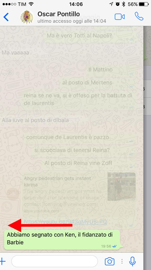 Whatsapp come sapere quando un messaggio stato - Come sapere se un messaggio e stato letto ...