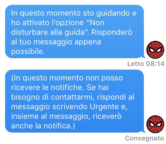 IOS 11 Non disturb are alla guida 004
