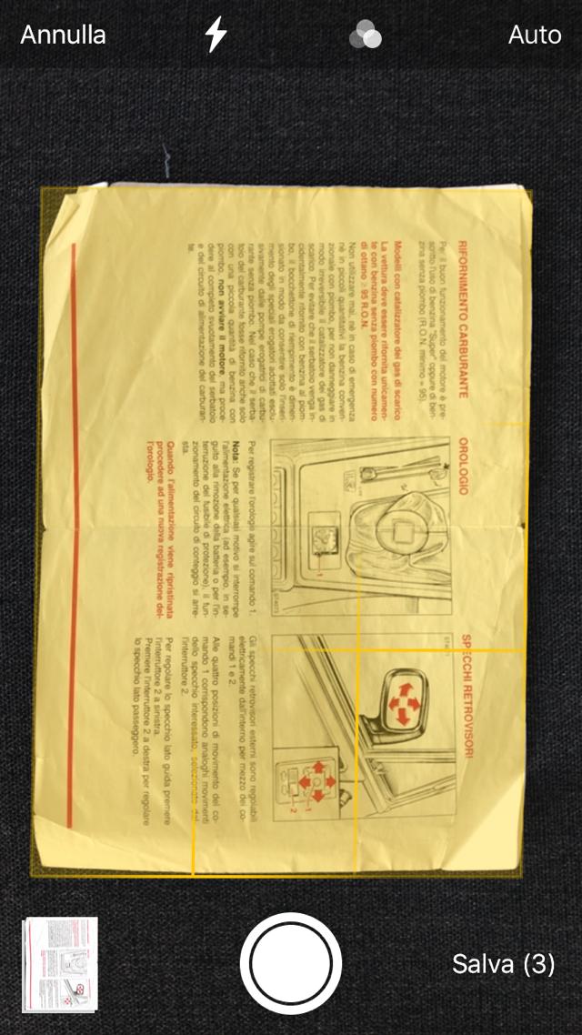 IOS 11 scansione documenti 003 b