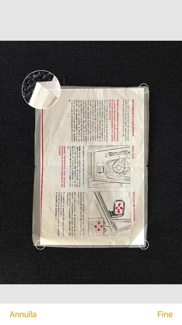 IOS 11 scansione documenti 004 b