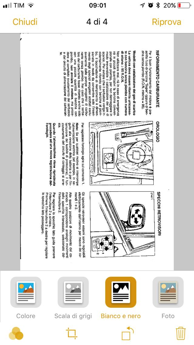 IOS 11 scansione documenti 006