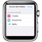 Apple conferma involontariamente l'Apple Watch cellular