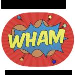 Trasformate iMessage in un super eroe con Comic Blast Animated Stickers. gratis per alcune ore