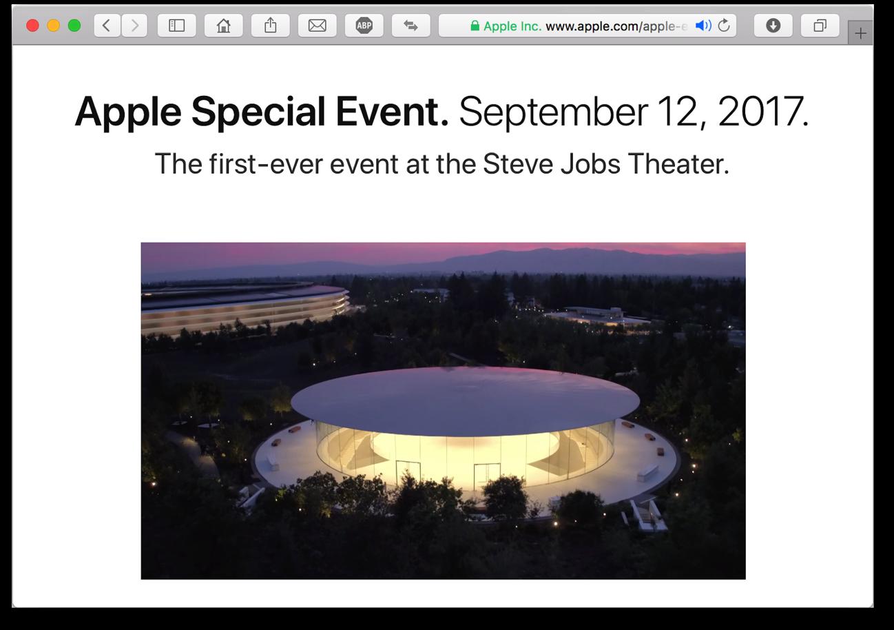Apple Event 12 sett straming