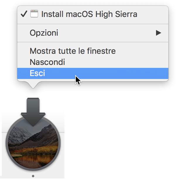Esci Install macOS