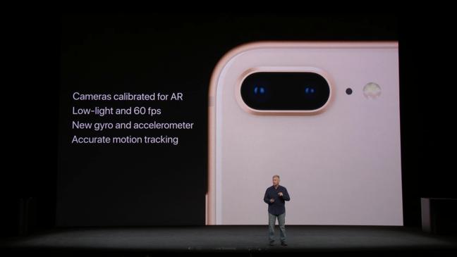 Fotocamera iPhone 8 Plus