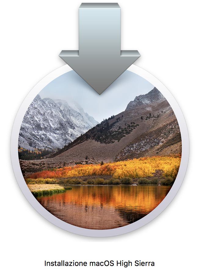 Installazione macOS High Sierra