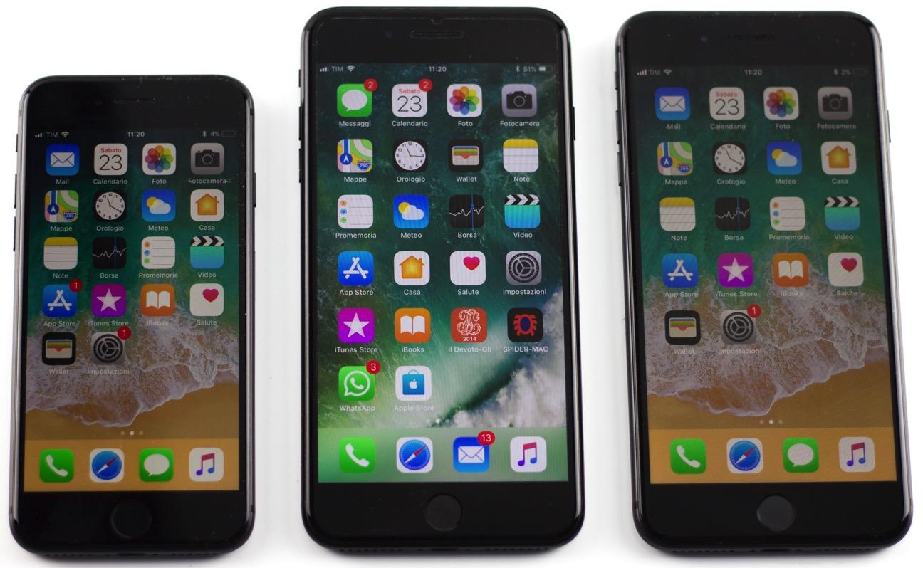 Recensione iPhone 8 accesi