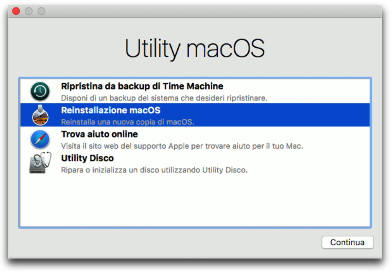 Utility macOS High Sierra