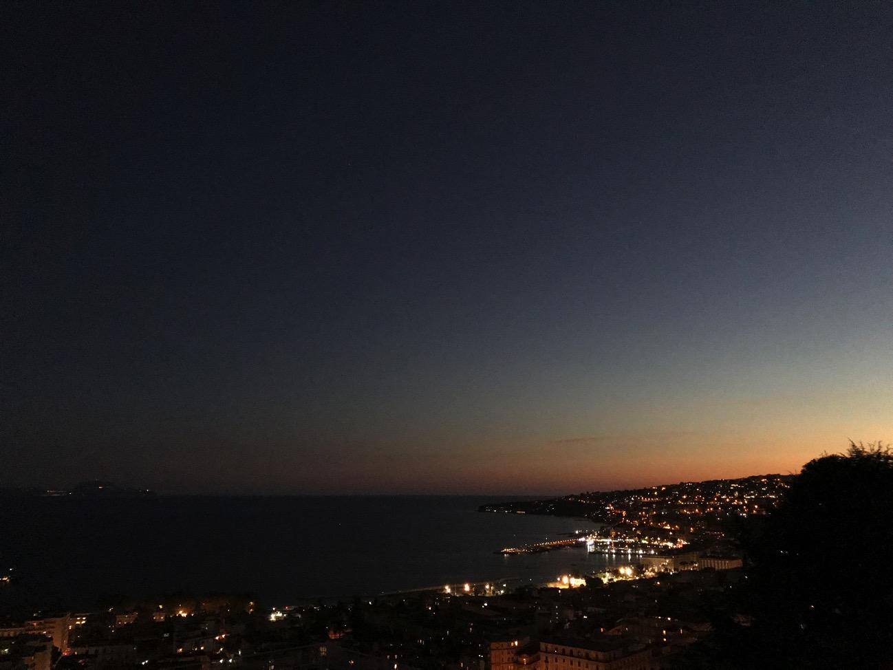 IPhone 7 paesaggio tramonto