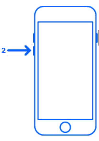 IPhone 8 Soft reset