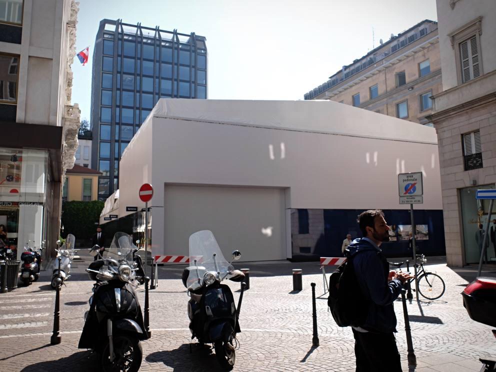 Apple Store Milano copertura
