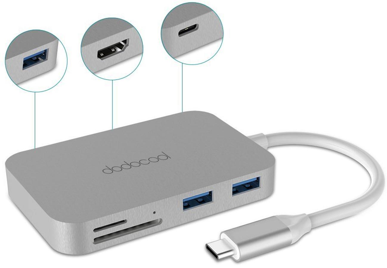 Dodocool DC30 7 in 1 USB C