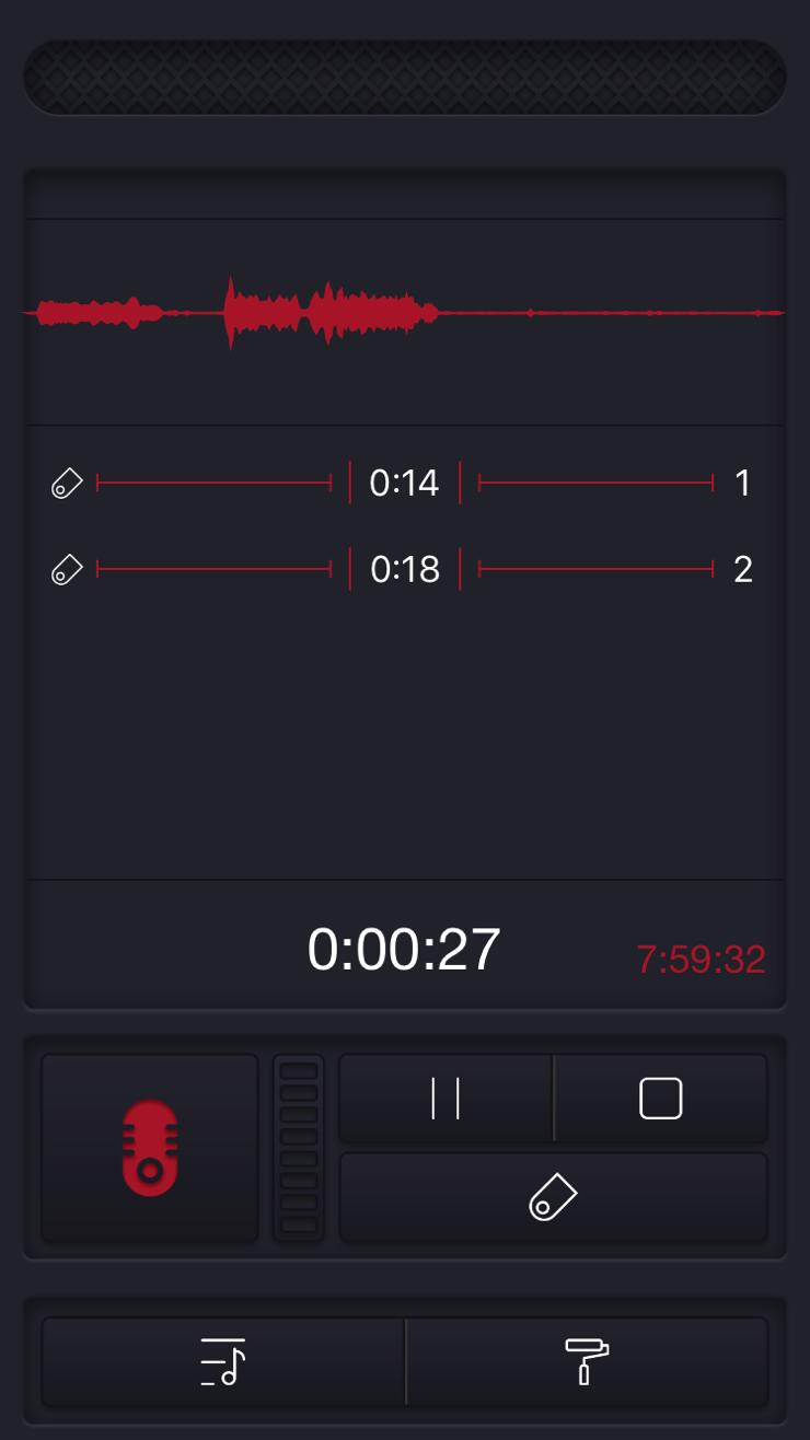 Record vocale memo
