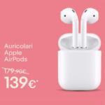 Apple AirPods a €126 invece di €179 su eBay (aggiornato 2)