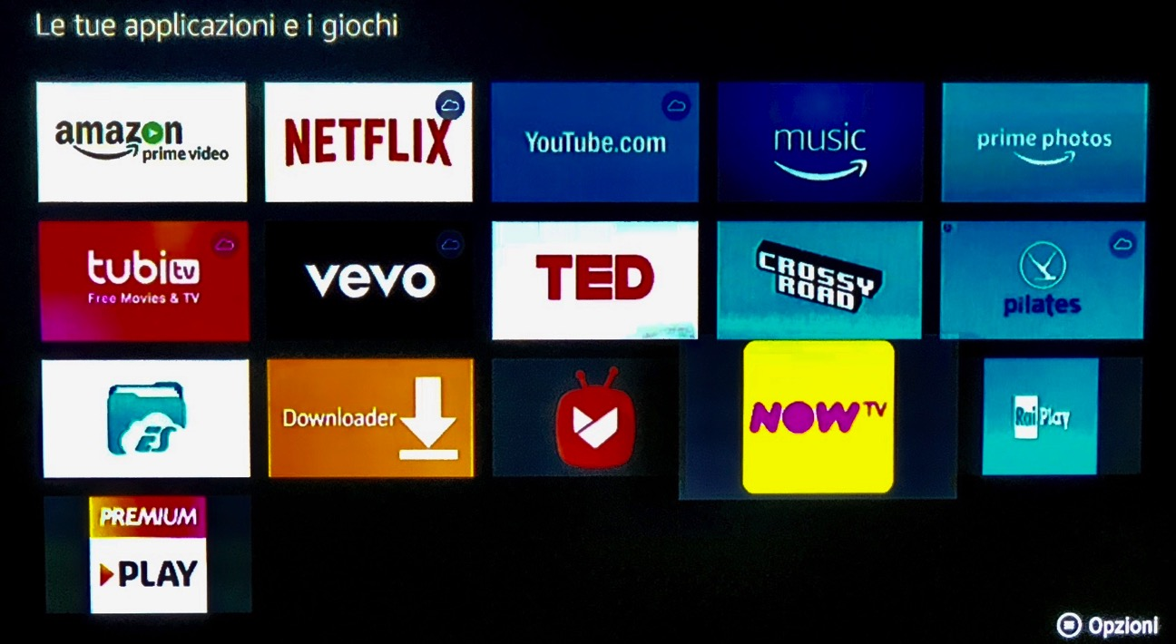 Amazon FireTV Goohgle Play