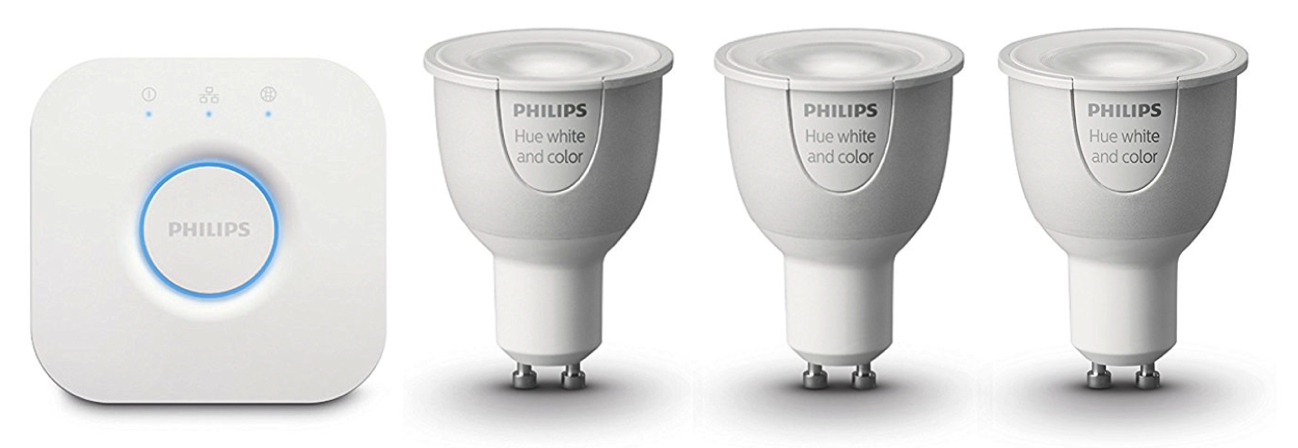 Philips Hue GU10 Starter Kit White and Color