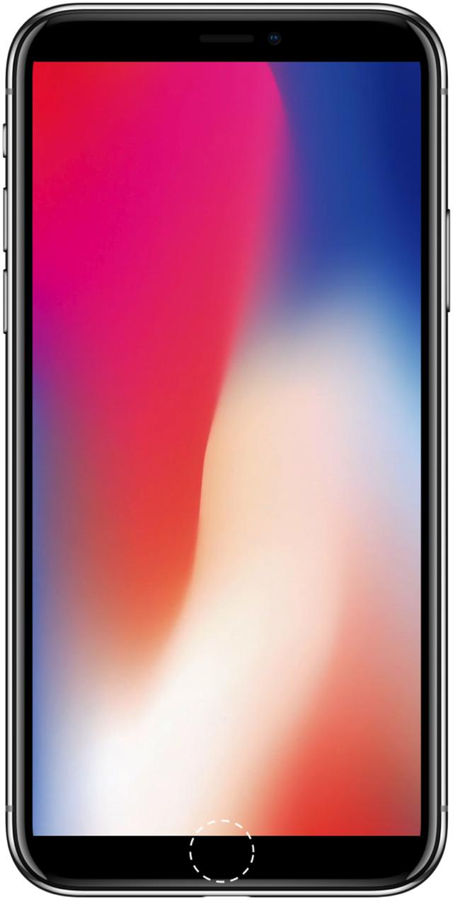 IPhone x senza tacca
