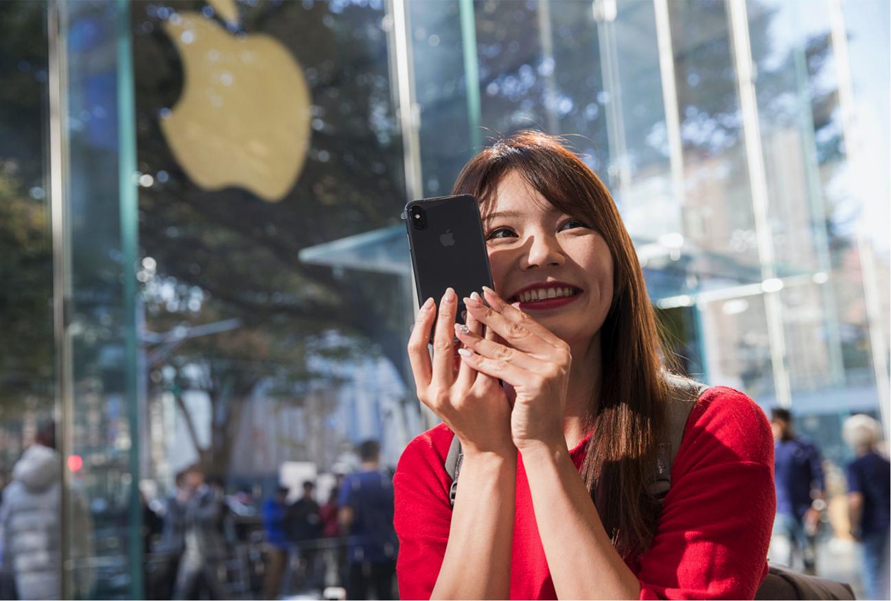 IPhoneX Launch Tokyo customer purchase 20171102 jpg