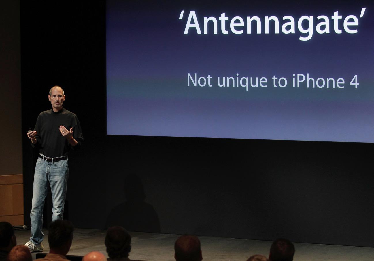 Antenngate no unique to iPhone 4