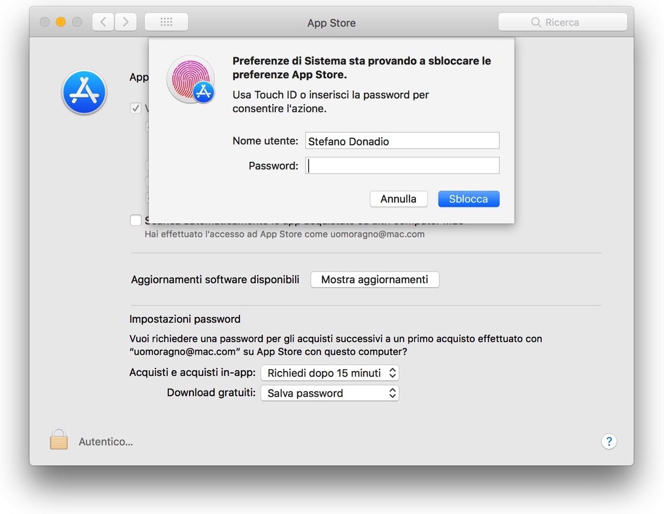 Bug Mac App Store