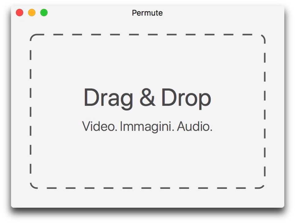 Permute drag and drop