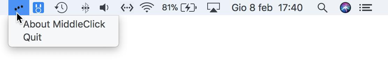 Middle Click barra menu